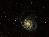 Galaxy (Spiral) Art Poster Print Masterprint