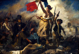 Eugene Ferdinand Victor Delacroix (Liberty Leading the People) Art Poster Print Masterprint