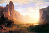 Albert Bierstadt Yosemite Valley Landscape Art Print Poster Masterprint