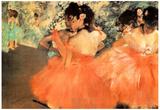 Edgar Degas Ballerine in Rosa Art Print Poster Poster