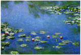 Claude Monet Water Lilies Art Print Poster Posters