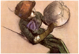 Edgar Degas The Milliner 2 Art Print Poster Posters