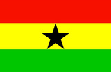 Ghana National Flag Poster Print Masterprint