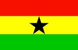Ghana National Flag Poster Print Masterprint