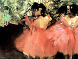 Edgar Degas (The Dancers) Art Poster Print Masterprint