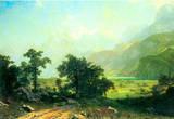 Albert Bierstadt Lucerne Switzerland Art Print Poster Masterprint