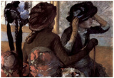 Edgar Degas The Milliner Art Print Poster Posters