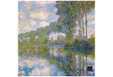 Claude Monet (Poplars on Epte) Art Poster Print Posters