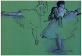 Edgar Degas Dancers at the Barre Art Print Poster Photo