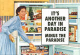 Another Day in Paradise Minus the Paradise Funny Art Poster Print Masterprint