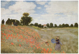 Claude Monet (Field of Poppies) Art Poster Print Prints