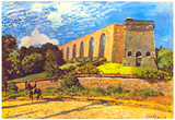 Alfred Sisley Aqueduct in Port Marly Art Print Poster Prints