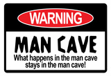 Man Cave Sign Art Print Poster Poster