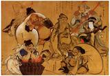 Katsushika Hokusai Seven Gods of Fortune Art Poster Print Posters