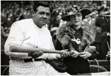 Babe Ruth and Wife Claire Archival Photo Sports Poster Print Prints