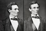 Abraham Lincoln Diptych Archival Photo Poster Print Masterprint