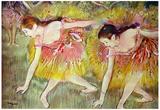 Edgar Degas Ballet Dancers Art Print Poster Posters