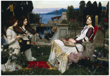 John William Waterhouse Saint Cecilia Art Print Poster Print