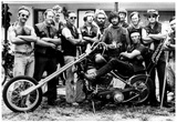 Miami's Disciples Motorcycle Club Archival Photo Poster Posters