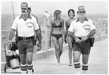 Clearwater Florida Police Beach Patrol Archival Photo Poster Posters