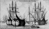 Wenceslas Hollar (Dutch trading ships (Vliet)) Art Poster Print Masterprint