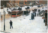 Childe Hassam Fifth Avenue in Winter Art Print Poster Posters