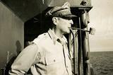 General Douglas MacArthur on Ship Archival Photo Poster Print Masterprint