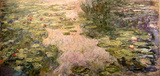 Claude Monet (Water Lilies, 1917-1919) Art Poster Print Masterprint