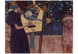 Gustav Klimt (Music) Art Poster Print Prints