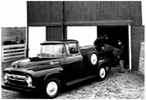 Ford F100 Pick-up Archival Photo Poster Photo