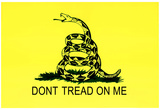 Gadsden Flag (Don't Tread On Me) Tea Party Historical Poster Poster