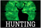 Hunting Green Buck Poster Print Photo
