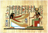 Egyptian Hieroglyphics MUMMY Ancient Art Print POSTER Prints