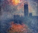 Claude Monet (The Parliament in London) Art Poster Print Masterprint