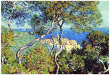 Claude Monet (Bordighera) Art Poster Print Posters