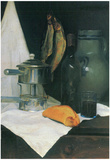 Felix Vallotton Still Life with Herrings Art Print Poster Print