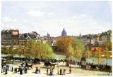 Claude Monet Le Quai du Louvre Art Print Poster Posters