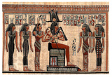 Egyptian Hieroglyphics I Art Print Poster Photo