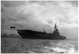 Aircraft Carrier Archival Photo Poster Print Posters