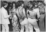 Dancers Doing the Bump 1975 Archival Photo Poster Kunstdrucke