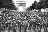 American Soldiers in Paris WWII Archival Photo Poster Print Masterprint