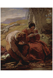 William Mulready (The sonnet) Art Poster Print Posters