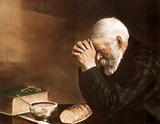 Daily Bread Art Print POSTER Prayer Religious Lord Poster