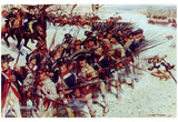 Battle of Guilford Court House (Line of Soldiers) Art Poster Print Prints