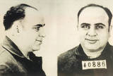Al Capone Mug Shot Archival Photo Poster Print Masterprint