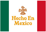 Hecho En Mexico Made in Mexico Art Print Poster Prints