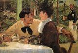Edouard Manet Père Lathuille Art Print Poster Poster