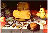 Floris Claesz. van Dyck Still Life Art Print Poster Posters