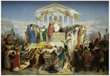 Gerome The Age of Augustus The Birth of Christ Art Print Poster Posters