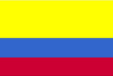 Colombia National Flag Poster Print Masterprint